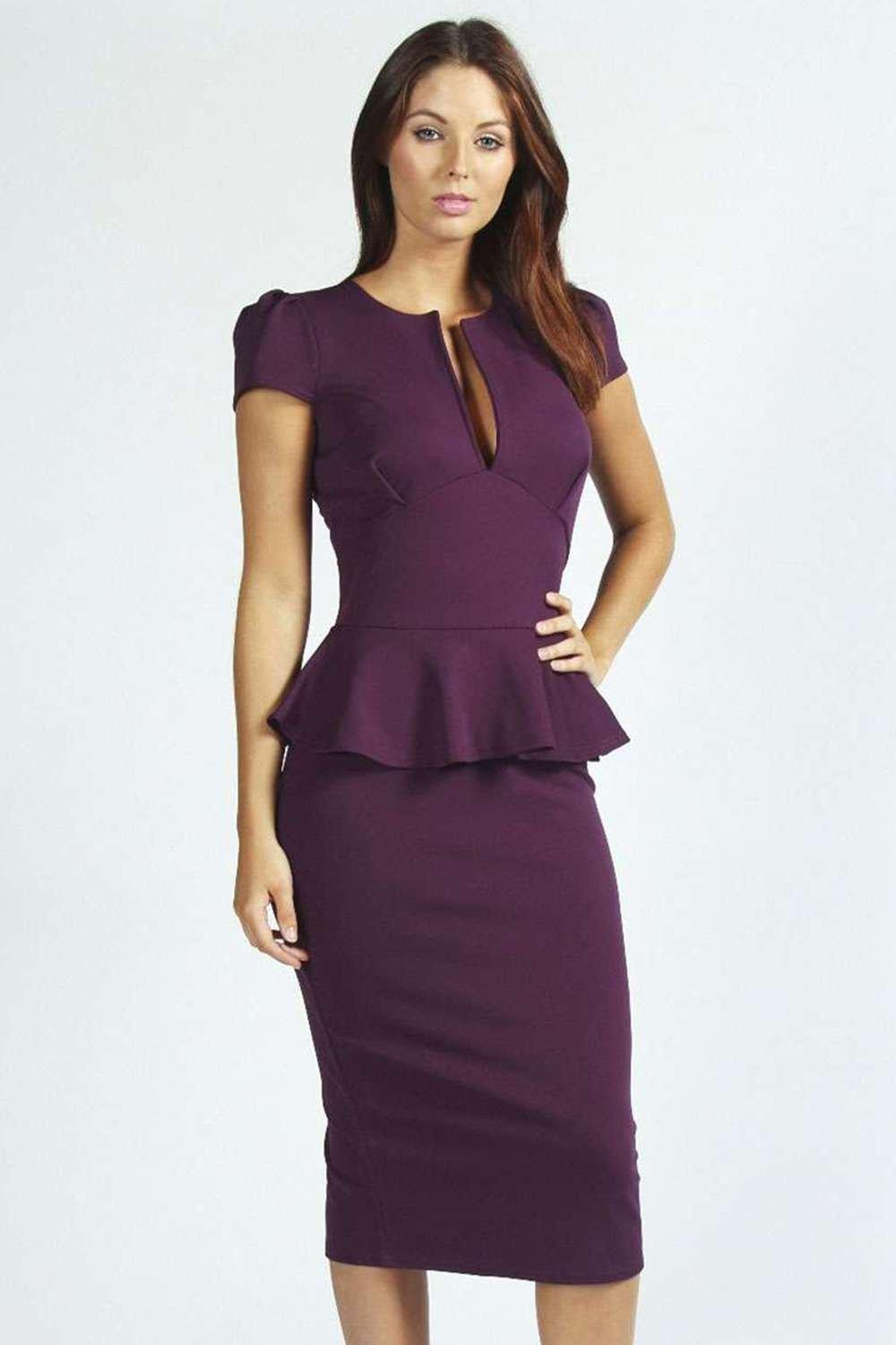 Find women's peplum dress at ShopStyle. Shop the latest collection of women's peplum dress from the most popular stores - all in one place.