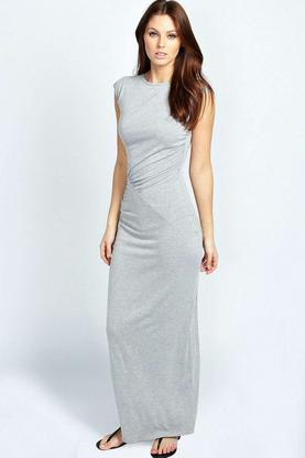 Philipa Ruched Side Detail Maxi Dress