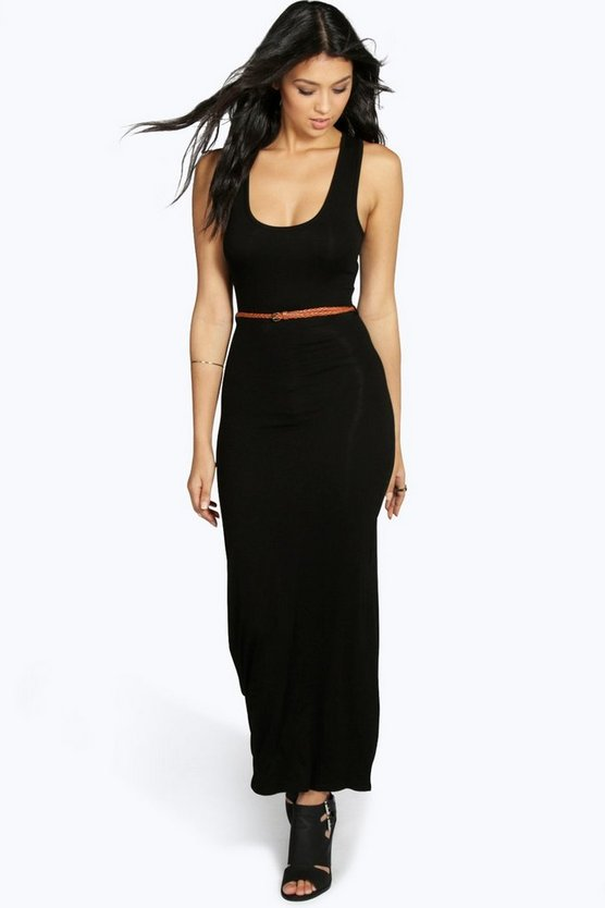 Laura Racer Back Maxi Dress