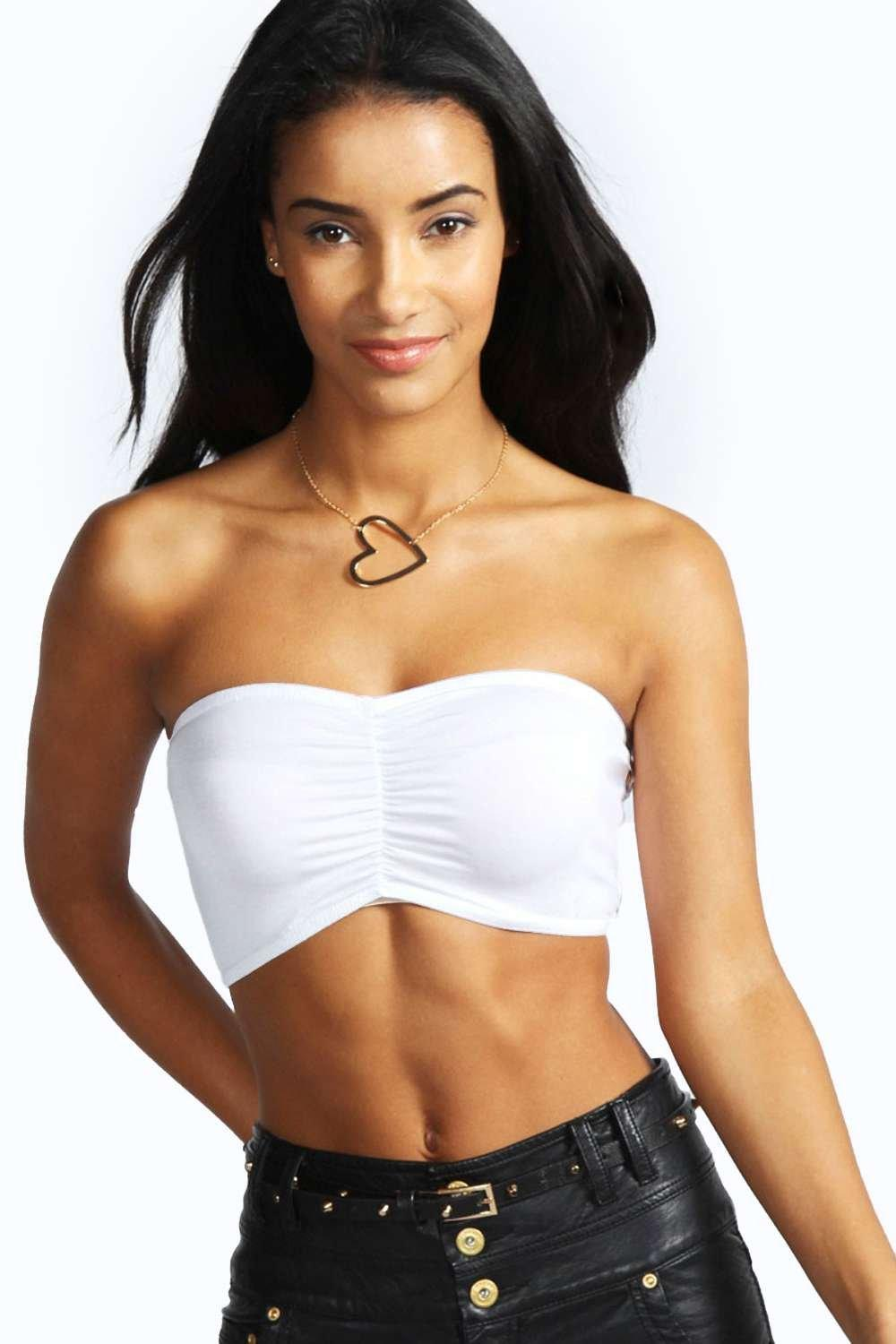 Holly Ruched Front Bandeau