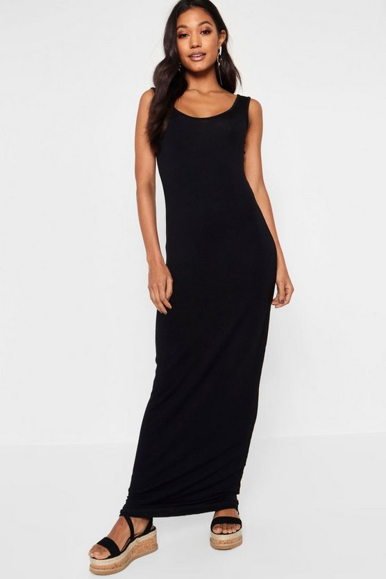 Sandy Scoop Neck Maxi Dress