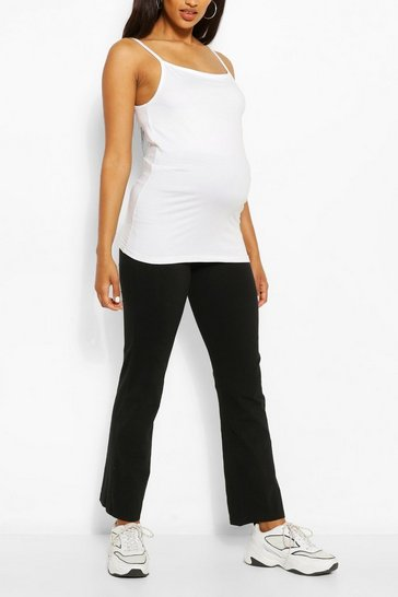 Black Maternity Over The Bump Lounge Trouser