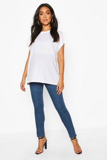 Mid blue Maternity Skinny Jean