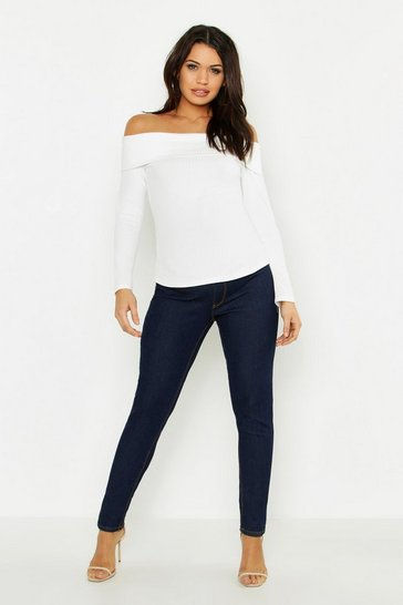 Indigo Maternity 5 Pocket Over The Bump Skinny Jean
