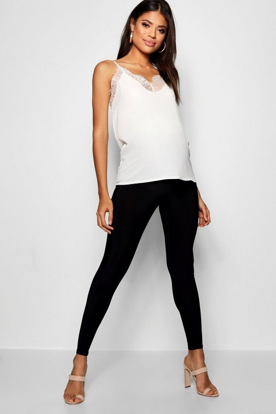 Maternity Over The Bump Slinky Legging