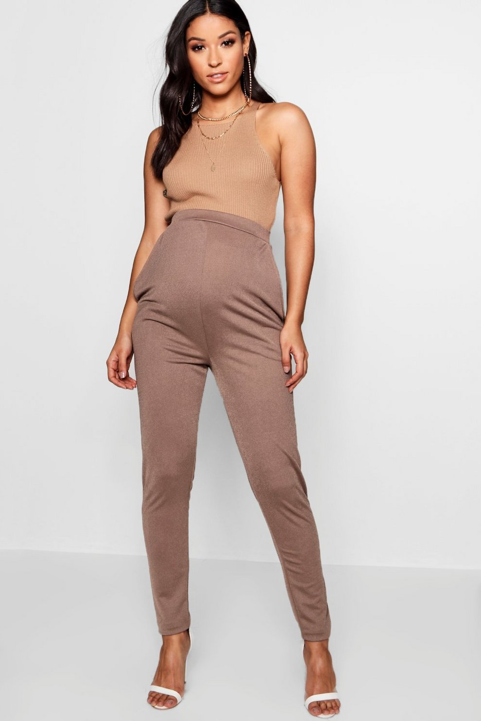 Outlet Amazing Price Marketable Cheap Price Boohoo Maternity Tailored Slim Leg Trousers EmUqWOy
