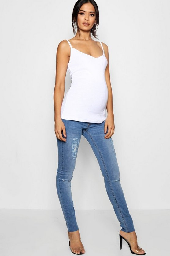 Maternity Indi Over The Bump Skinny Jean
