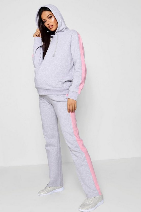 Maternity Sports Stripe Lounge Jogger