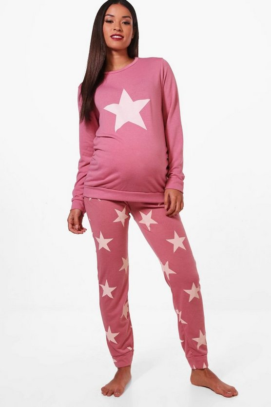 Maternity Sara Star Lounge Set