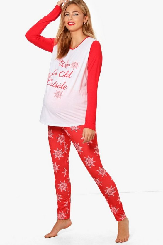 Maternity Lois Baby It's Cold Outside Pyjama Set