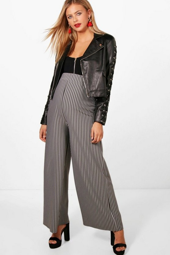 Maternity Chelsea Stripe Tailored Trouser