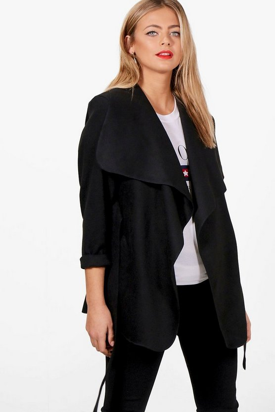 Maternity Holly Waterfall Coat