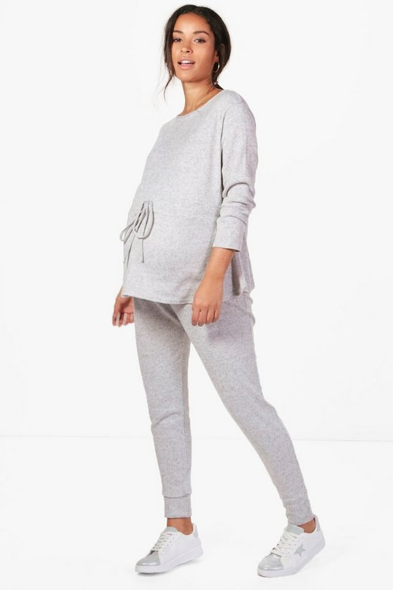 Maternity Lauren Ruched Waisted Lounge Set