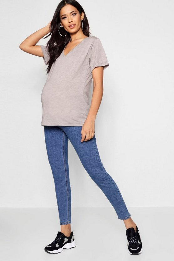 Maternity High Waisted Over The Bump Skinny Jean