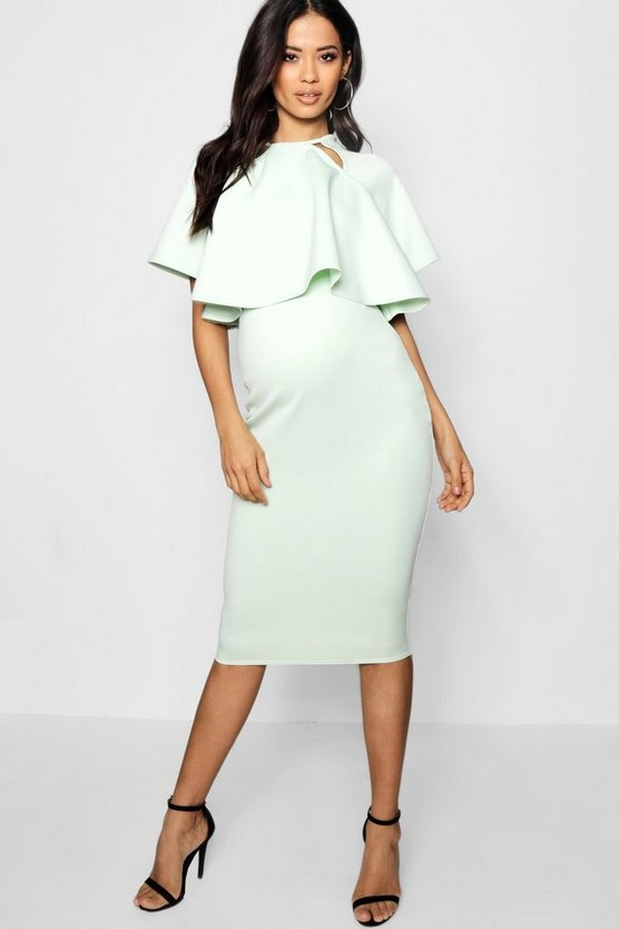 Maternity Jessy Double Layer Wiggle Dress