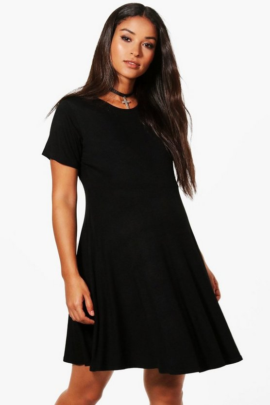 Maternity Jen Basic Smock Dress