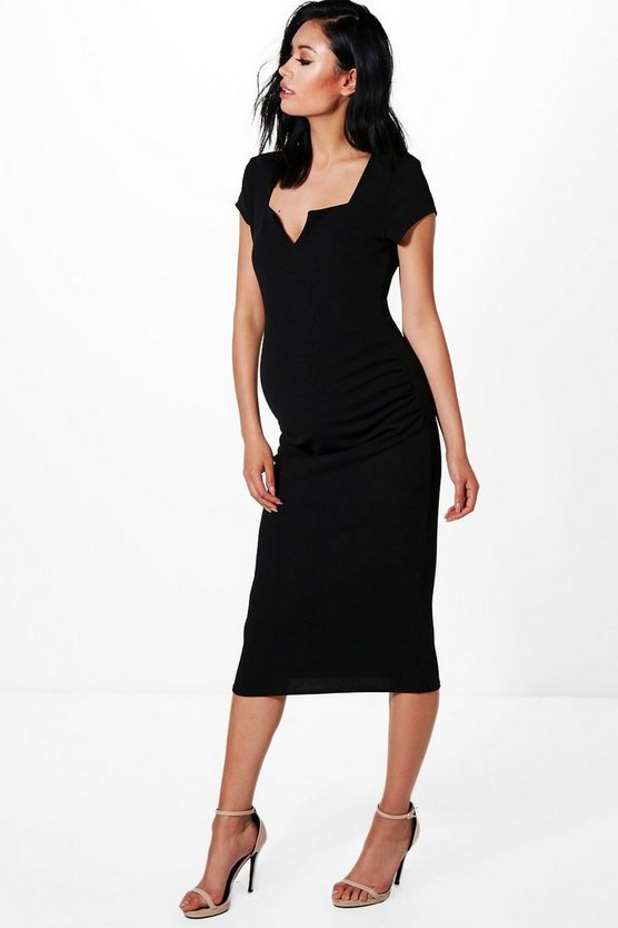 Maternity Lexi Tailored Midi Dress