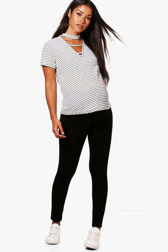 Maternity Tia Over The Bump Ankle Legging
