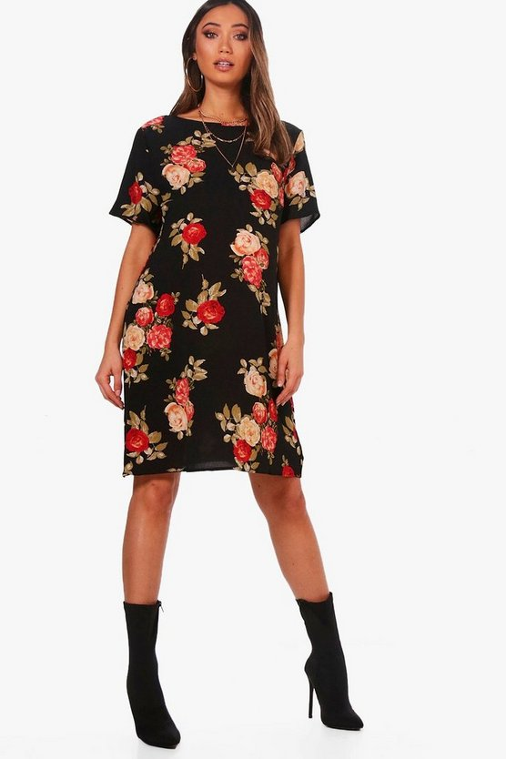 Maternity Emily Rose Floral Shift Dress