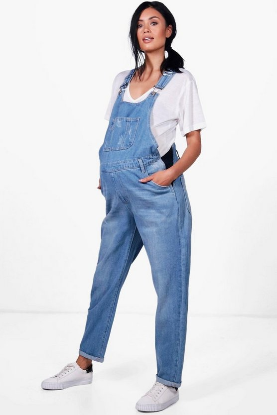 Maternity Annie Denim Dungaree