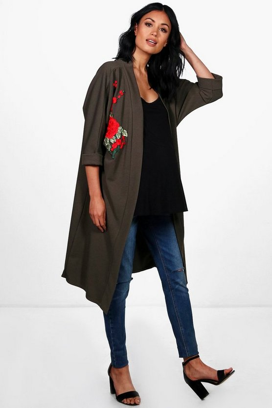 Maternity Katy Embroidered Kimono Jacket