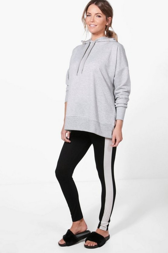 Maternity Nadia Colour Block Over The Bump Legging