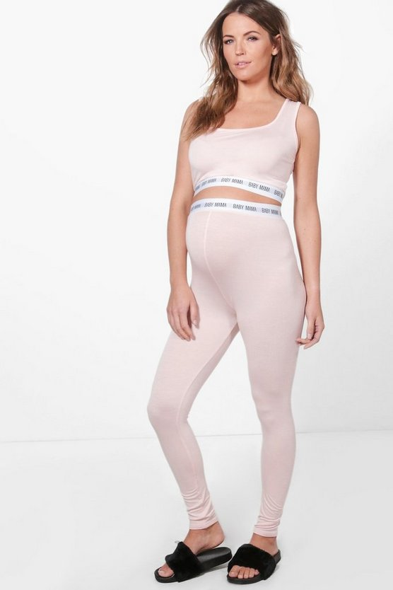 Maternity Olivia Baby Mama Sports Legging