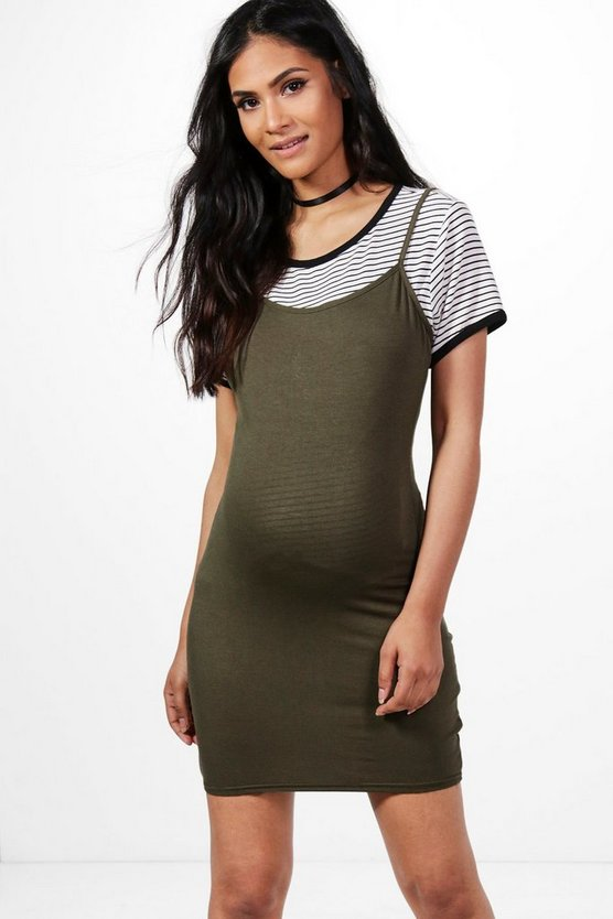 Maternity Ellie Strappy Bodycon Dress