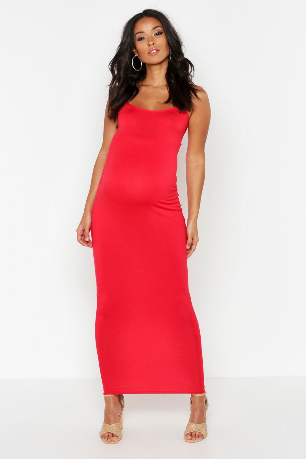 Sale Popular Boohoo Maternity Strappy Bodycon Maxi Dress Outlet Discount Authentic Cheap 2018 Newest Best Sale Cheap Price Buy Cheap Nicekicks 5DRiboXSZ