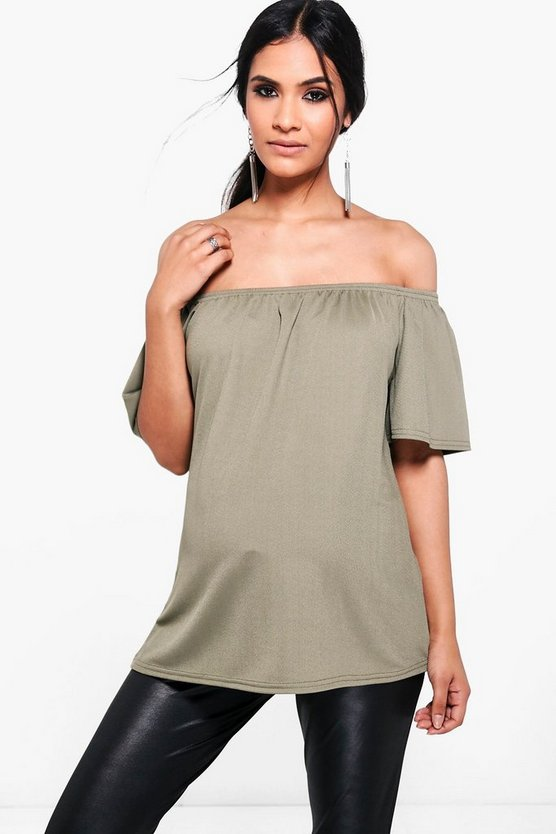 Maternity Kylie Off The Shoulder Top