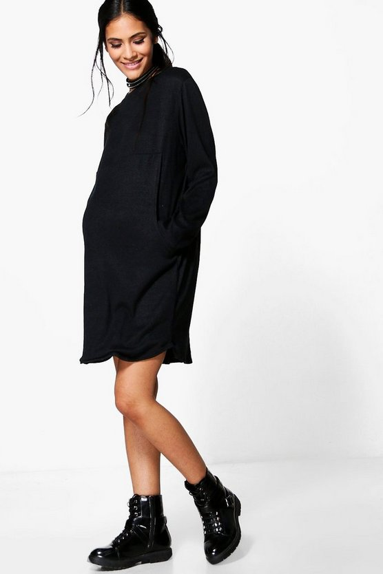 Maternity Eva Soft Oversized Sweat Dress