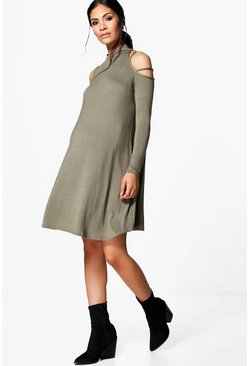 Maternity Arabella Strappy Shoulder Swing Dress