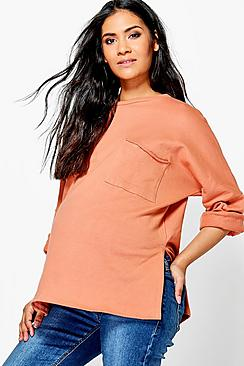 Maternity Felicity Oversized Pocket Lounge Sweater
