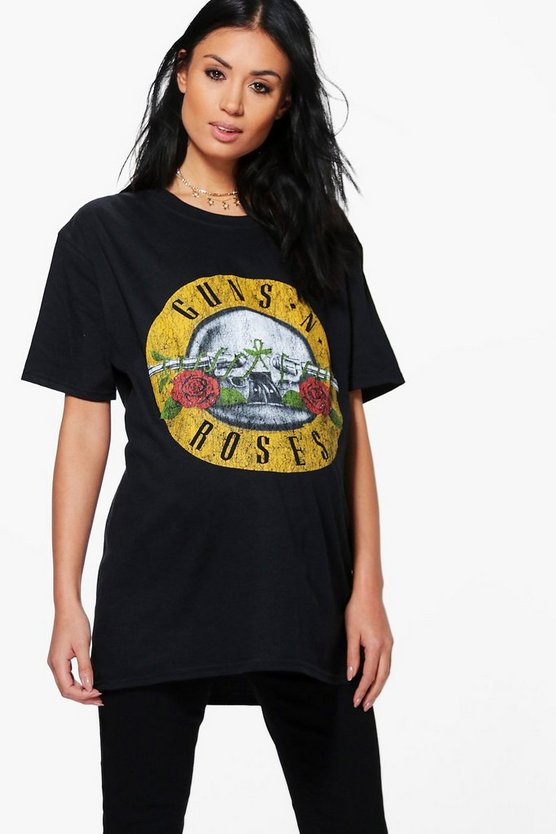Maternity Isla Guns 'N' Roses Band Tee