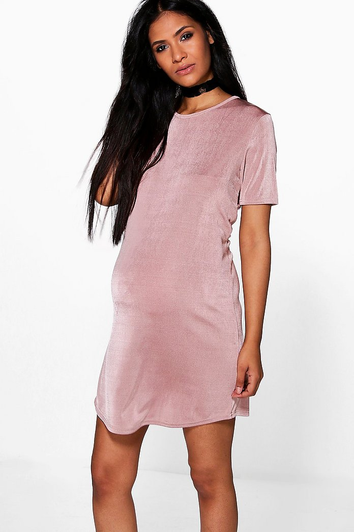 Maternity Amanda Premium Silky Shift Dress
