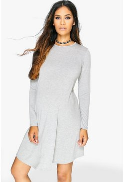 Maternity Nina Long Sleeve Swing Dress