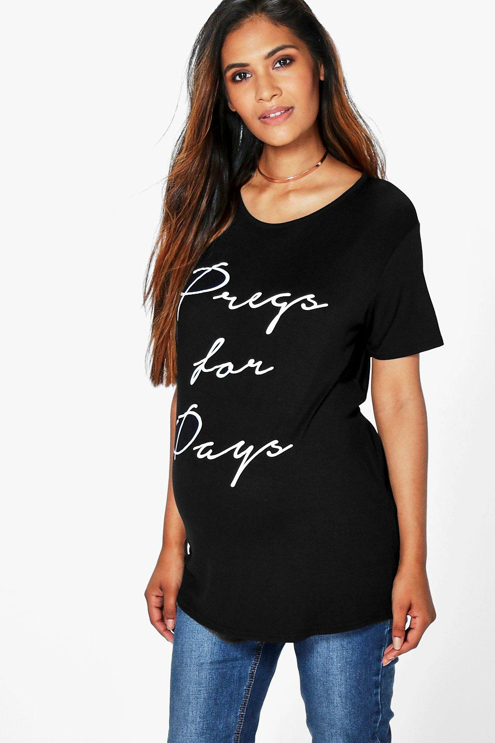 Maternity Sammy Pregs For Days Printed Tee