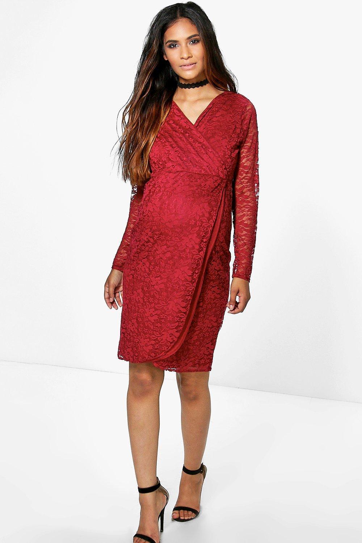 Grey Maternity Dress