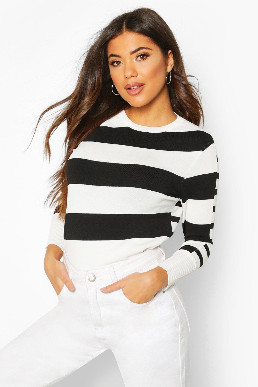 SALE Stripe Knit Jumper