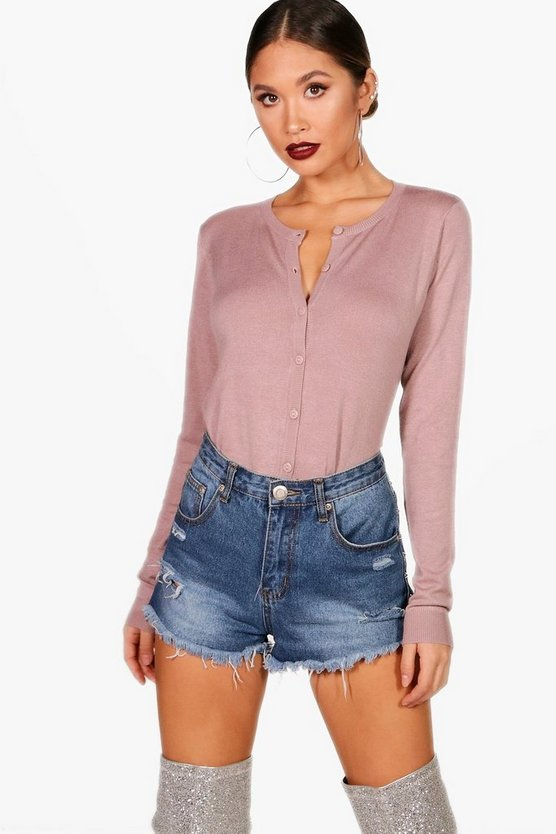 Alisha Knitted Crop Cardigan