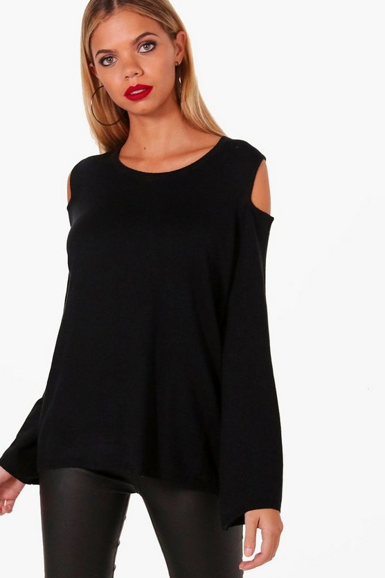 Sian Cold Shoulder Jumper