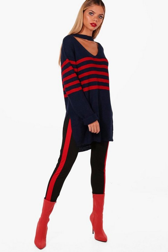 Juliet Oversized Striped Jumper