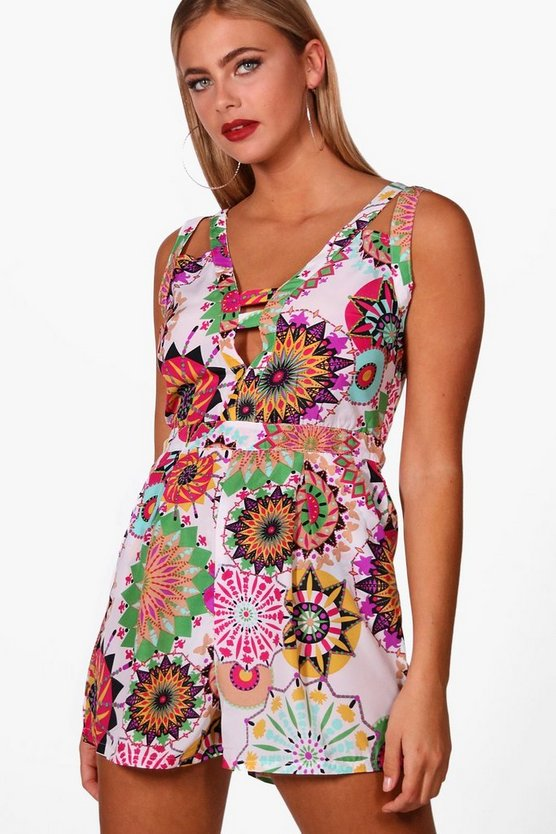 Janae Printed Playsuit