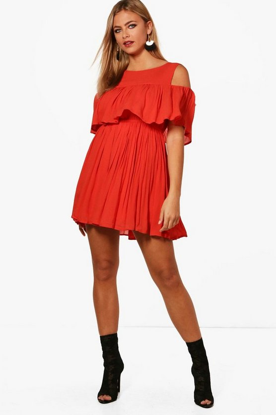Jessica Cold Shoulder Dress