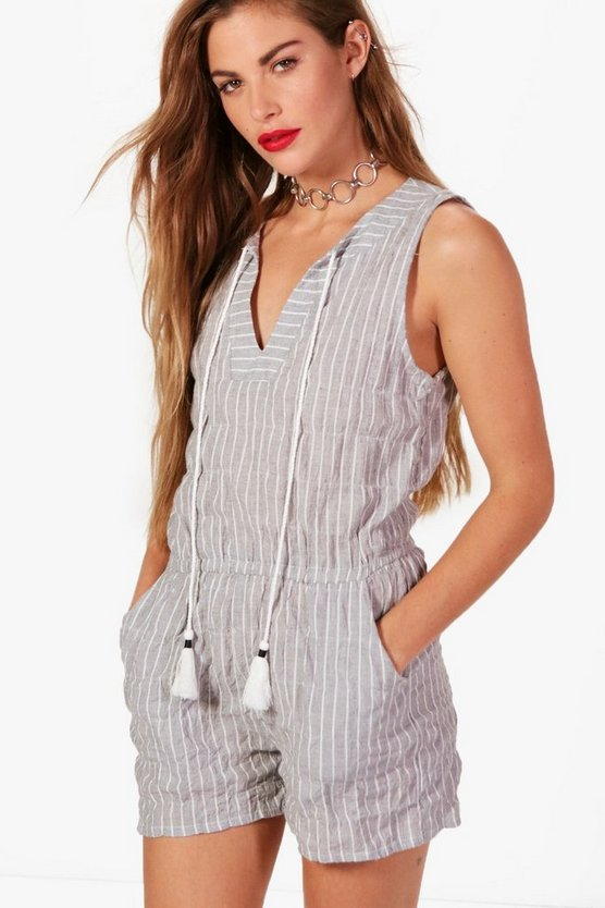 Jemima Stripe Playsuit