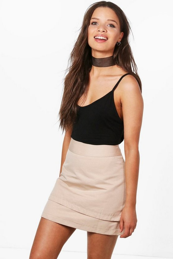 Lily Double Layer Mini Skirt
