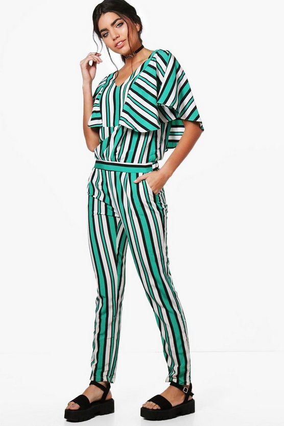 Edith Stripe Jumpsuit
