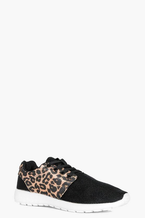 Hollie Leopard Sports Trainer