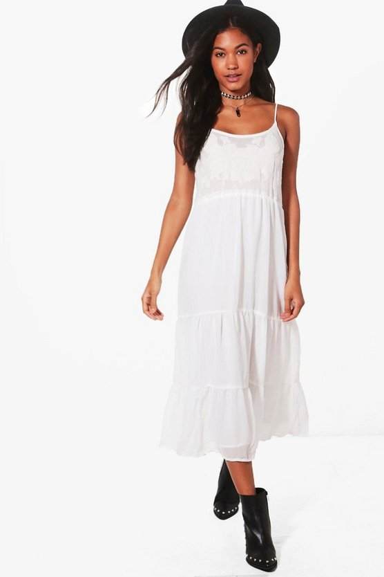 Bella Tiered Summer Midi Dress