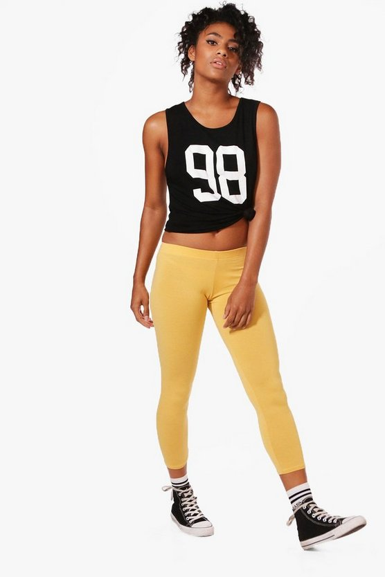 Maisy Cropped Jersey Leggings